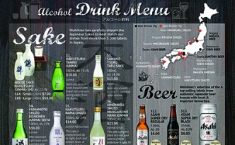 Melbourne Drink Menu
